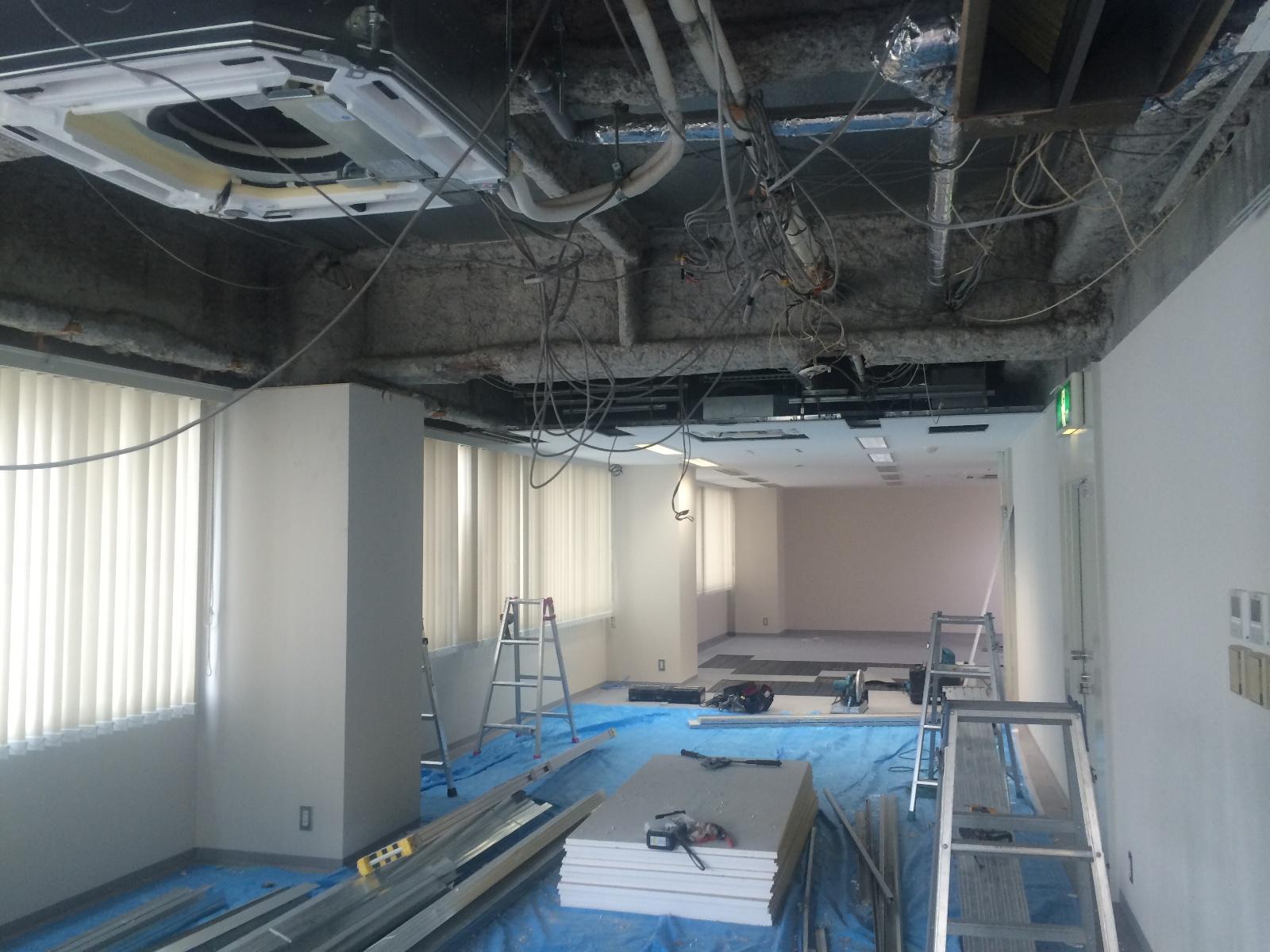 名古屋オフィスの工事が始まりました